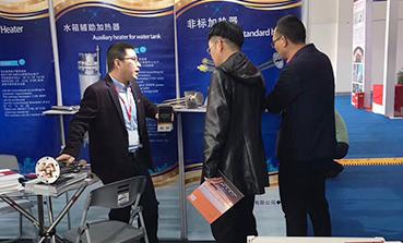 上海庄昊参加2018第十六届上海国际锅炉、辅机及工艺设备展览会