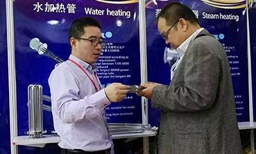 上海庄昊参加2017年第十五届上海国际锅炉、辅机及工业设备展览会